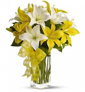 Flower Delivery Philadelphia on Lovely Lilies  Flower Bouquets   A Bouquet That Combines Joy And
