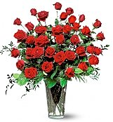 Roses: Three Dozen Red Rose Bouquet