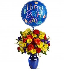 Flower Bouquets: Fly Away Birthday Bouquet