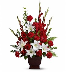 Funeral Flowers: Tender Tribute Bouquet