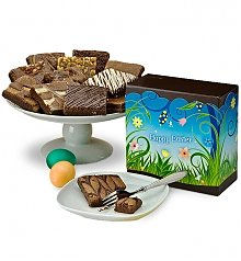 Desserts Confections Gifts: One Dozen Easter Brownies