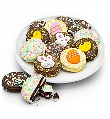 Desserts Confections Gifts: Happy Easter Chocolate Enrobed Oreo® Cookies