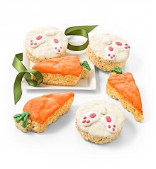 Desserts Confections Gifts: Easter Rice Crispy Bunnies and Carrots