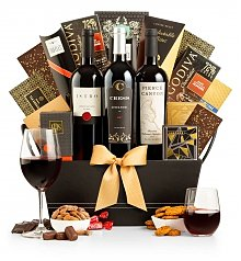 Wine Baskets: The 5th Avenue Extravagance