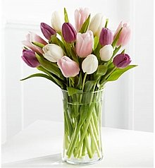 Flower Bouquets: Painted Skies Tulip Bouquet