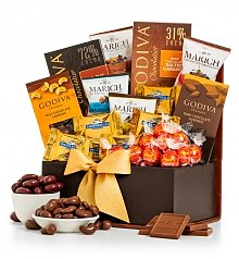 Chocolate & Sweet Baskets: The Chocolatier Collection